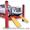 ТТ 5, 5-D4. Подъемник четырехстоечный,  электрогидравлический,  под сход розвал #778921