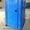 Биотуалет кабина передвижная пластиковая #1436376
