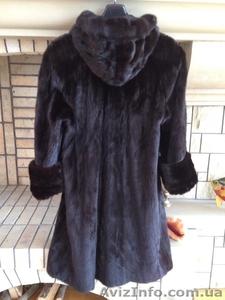 Шуба норковая черная, длинная Италия - Изображение #2, Объявление #1629721