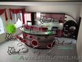 Столешницы и фасады кухонные покрыты пластиком ARPA, ASD