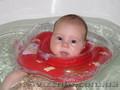 Круги вокруг шеи Baby Swimmer,  для купания детей с рождения до 3х лет.
