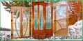 Металлопластиковые двери (межкомнатные)