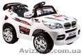 Внимание! Продается Новинка 2012 года - детский электромобиль БМВ  X8 White