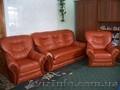 Продам мягкий уголок: диван (раскладной) и 2 кресла,  кожзам,  пр-во Австрия,  б/у