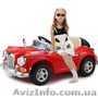 Детский электромобиль Mercedes Benz 128 RETRO. КРАСНЫЙ