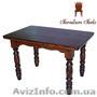 Столы деревянные для кухни, Стол 120 x 75 (4 ноги), Объявление #1212866