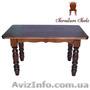 Столы деревянные для кухни, Стол 120 x 75 (4 ноги) - Изображение #2, Объявление #1212866