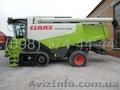 Комбайн зерновий Claas Lexion 580 terra trucks